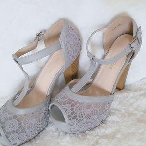 Dream Pairs High Heel Stilettos Peep Toe Sandals
